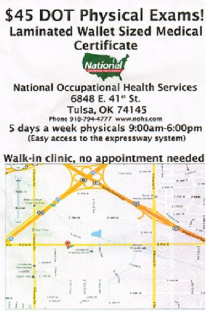 Oklahoma Dot Medical Card For Cdl