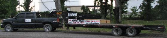 Trucks for CDL Testing