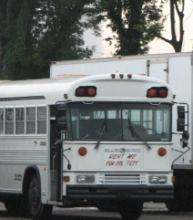 Bus for CDL Testing